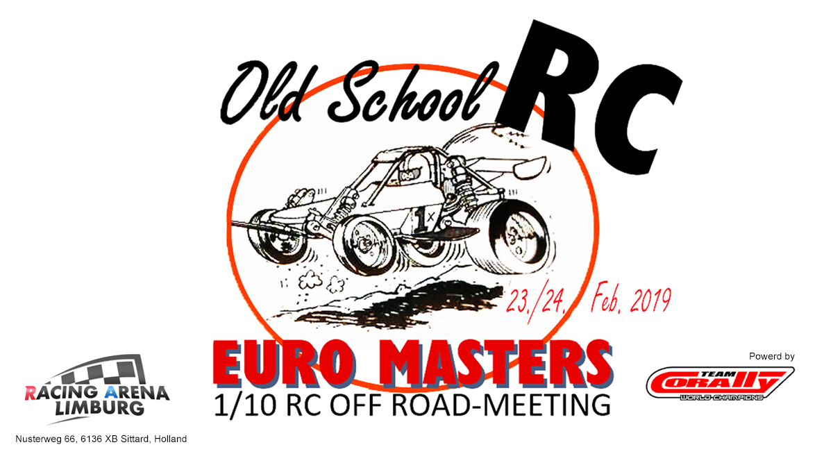 Oldschool Rc Euro Masters Pro10 Classic