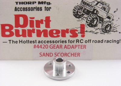 THORP Dirt Burners 4420 SRB Sand Scorcher Aluminum Spur Gear Adapter